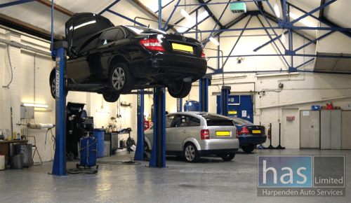 Vehicle Serving at Harpenden Autos